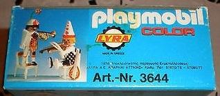 Playmobil 3644-lyr - Musical clowns - Box