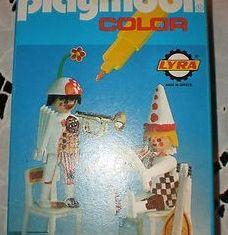 Playmobil - 3644-lyr - Musical clowns