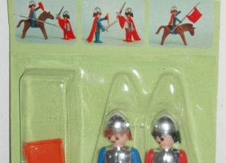 Playmobil - 1712v2-pla - Blue & red knights