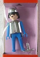 Playmobil - 1714v3-pla - Blue knight with sword