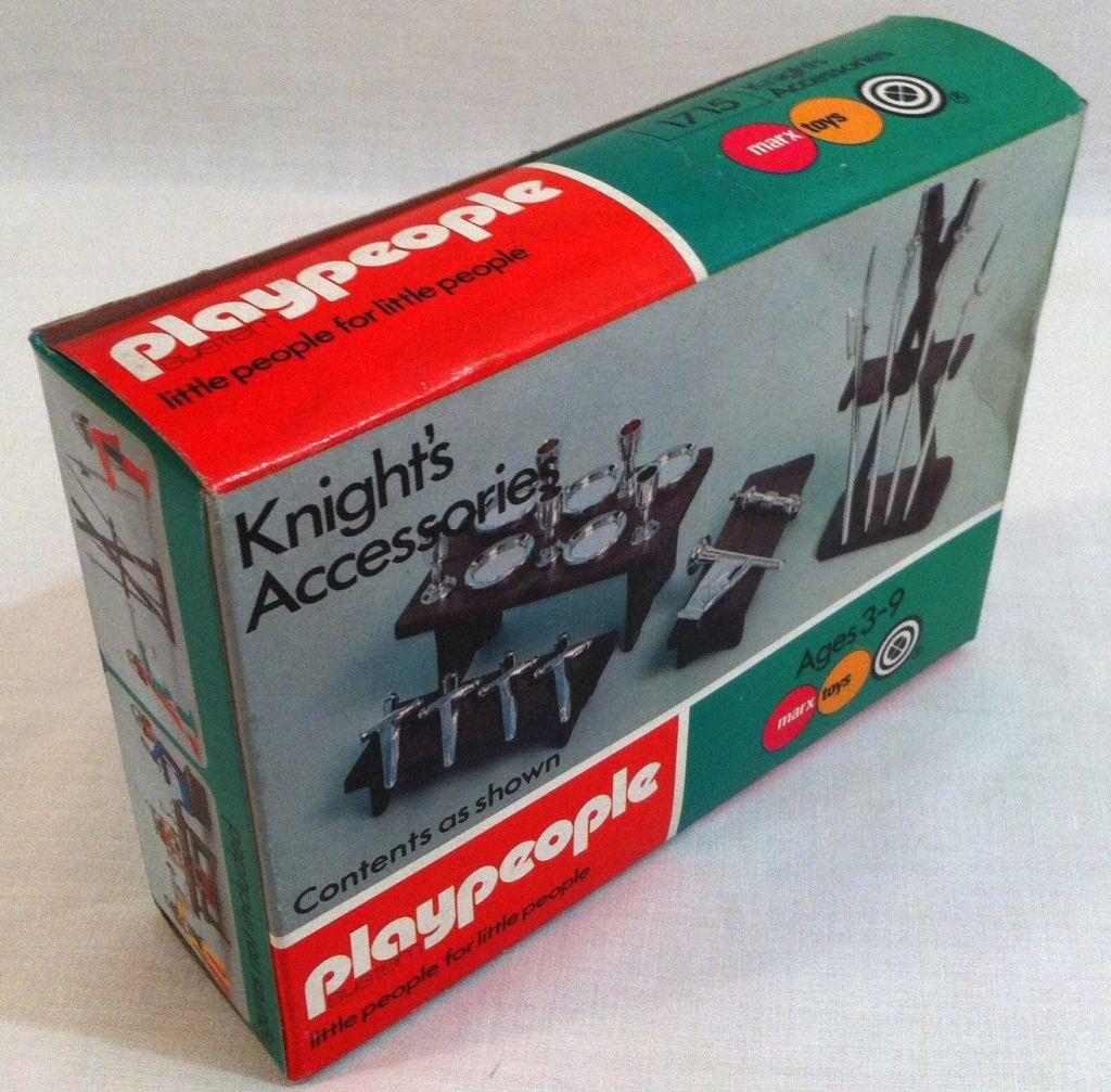 Playmobil 1715-pla - Knight's Accessories - Box