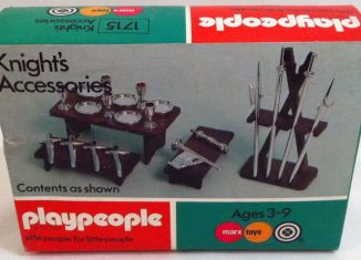 Playmobil - 1715-pla - Knight's Accessories