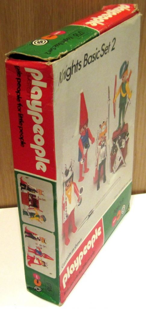 Playmobil 1716-pla - Knights Basic Set 2 - Back