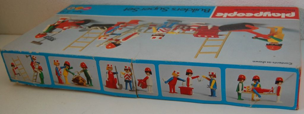 Playmobil 1720v1-pla - Builders Super Set - Zurück