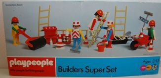 Playmobil - 1720v1-pla - Builders Super Set