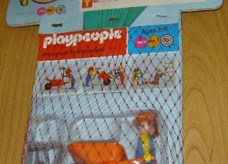 Playmobil - 1723-pla - Bauarbeiter mit Schubkarre