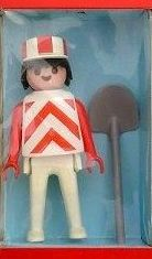 Playmobil - 1724v6-pla - Road worker