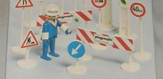 Playmobil - 1726-pla - Traffic Control