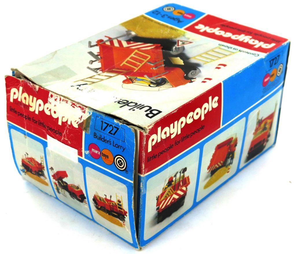 Playmobil 1727-pla - Builder's Lorry - Box