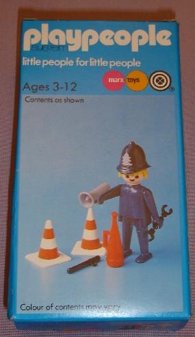 Playmobil 1728/2-pla - Bobby - Box