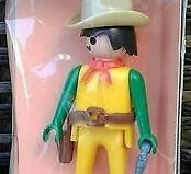 Playmobil - 1734/1v3-pla - Yellow cowboy