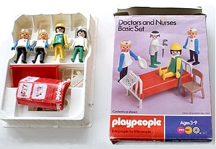 Playmobil 1741v1-pla - Doctors and Nurses Basic Set - Box