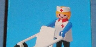 Playmobil - 1743/1-pla - Nurse and wheelchair