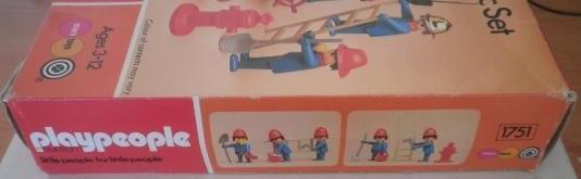 Playmobil 1751-pla - Set Basique de Pompiers - Boîte