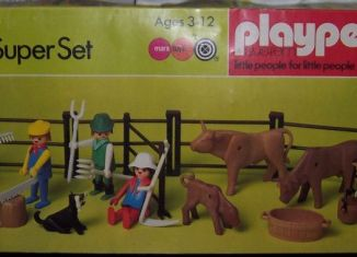 Playmobil - 1780-pla - Super Set Ferme