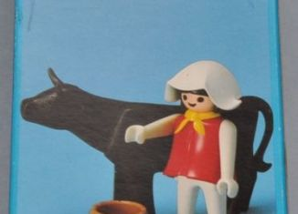Playmobil - 1783/1-pla - Farmer with cow