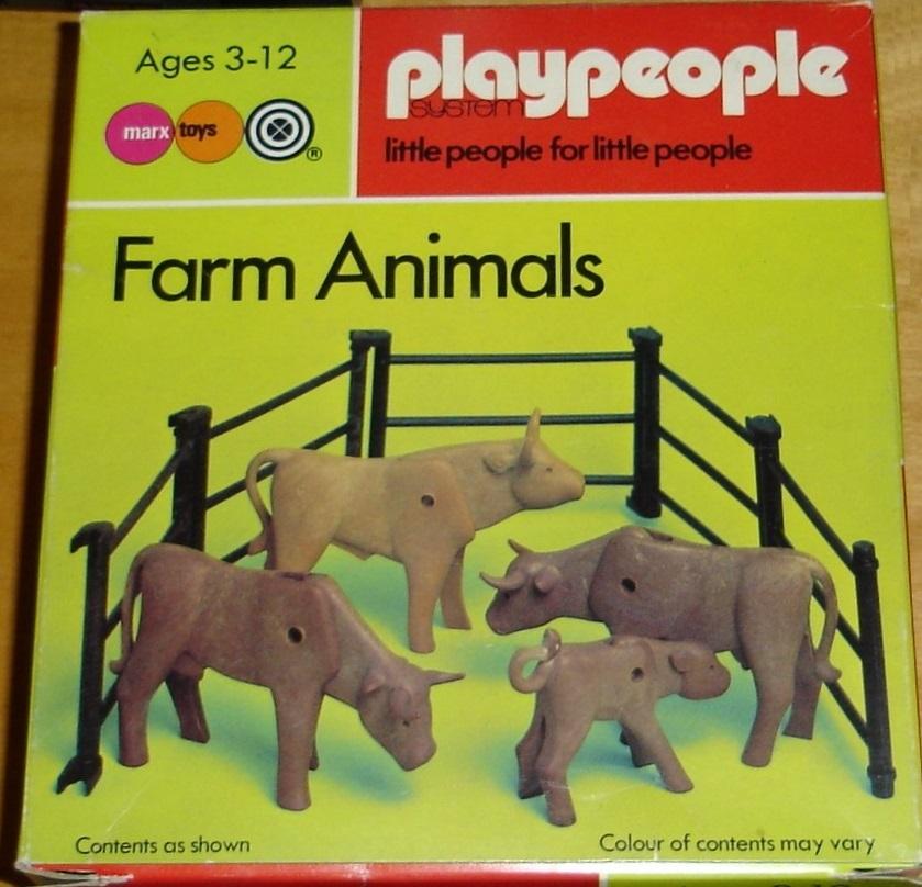 Playmobil 1785-pla - Farm Animals - Box