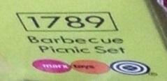 Playmobil 1789-pla - Barbecue Picnic Set - Box