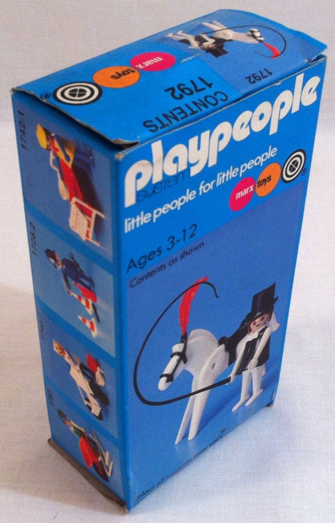 Playmobil 1792-pla - Circus horse trainer - Box
