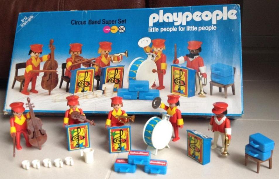 Playmobil 1796-pla - Circus Band Super Set - Back