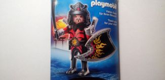 Playmobil - 30825993/10.92-ger - Nüremberg Toy Fair Give-away Samurai