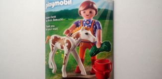Playmobil - 30961723/12.11-ger - Nüremberg Toy Fair Give-Away Horse Keeper