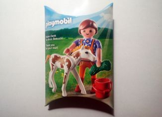 Playmobil - 30961723/12.11-ger - Nüremberg Toy Fair Give-Away Horse Keeper