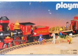Playmobil - 4032-ukp - Set grand train Western
