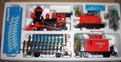 Playmobil 4033v2-usa - Large Western Train Set - Back