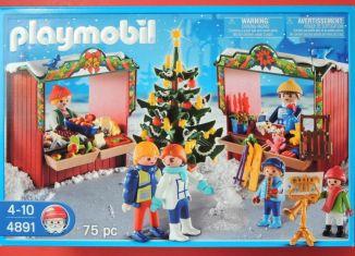 Playmobil - 4891-usa - Christmas Market