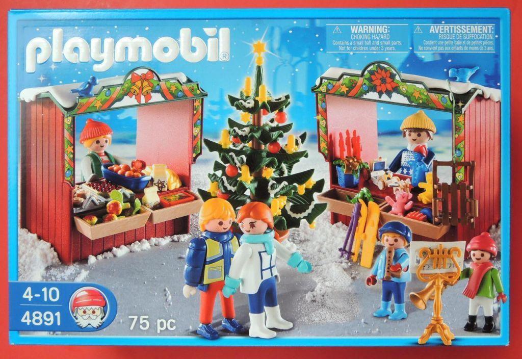 Weihnachtsmarkt Playmobil