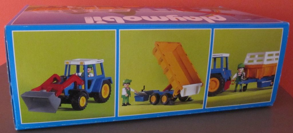 Playmobil 3073 - Tractor with Hay Trailer - Box