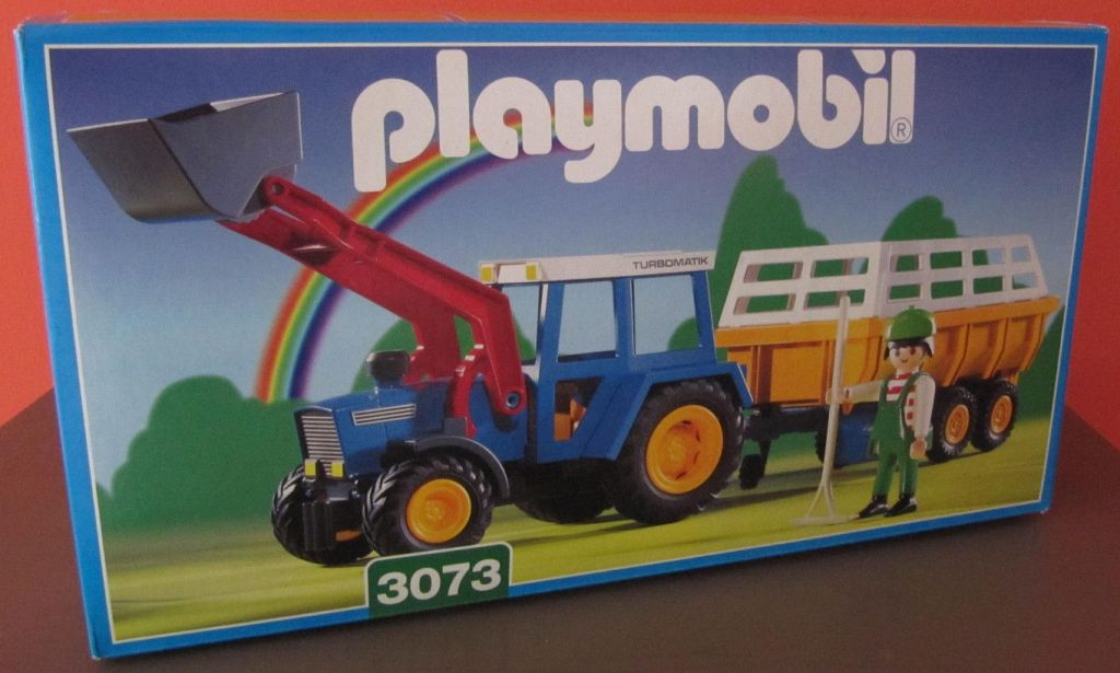 playmobil set 3073 tractor with hay trailer klickypedia Latestr Traktor Latestr Traktor