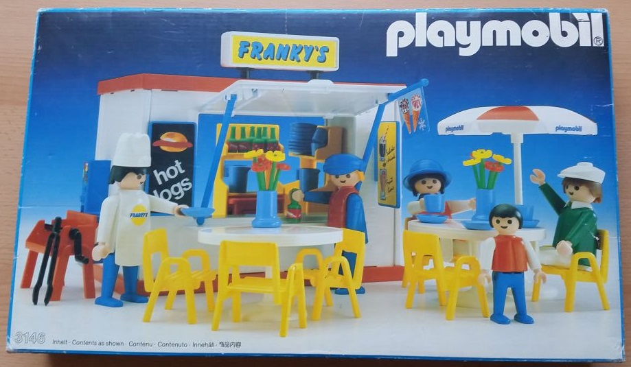 Playmobil 3146 - Franky's Place - Box
