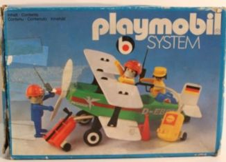 Playmobil - 3246s1v2 - Biplane Pegasus