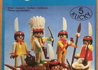 Playmobil - 3251s1v2 - Indians Set