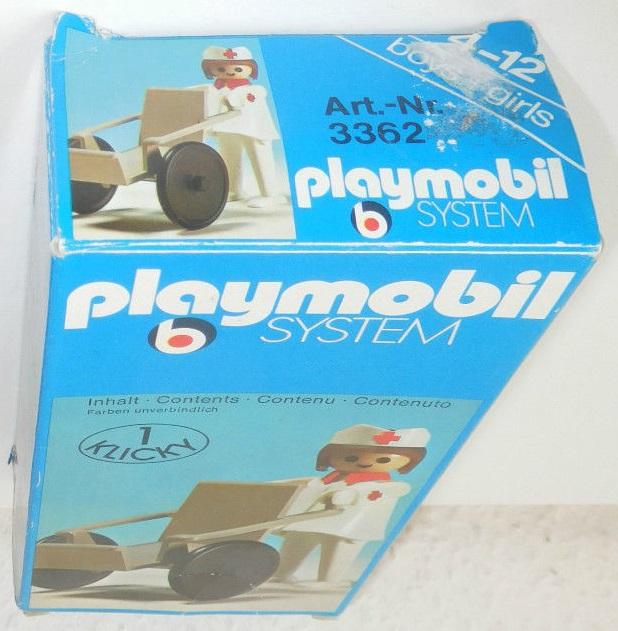 Playmobil 3362 - Nurse and Wheelchair - Box