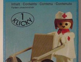Playmobil - 3362 - Nurse and Wheelchair