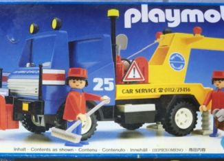 Playmobil - 3453v2 - Blue/Yellow Tow Truck