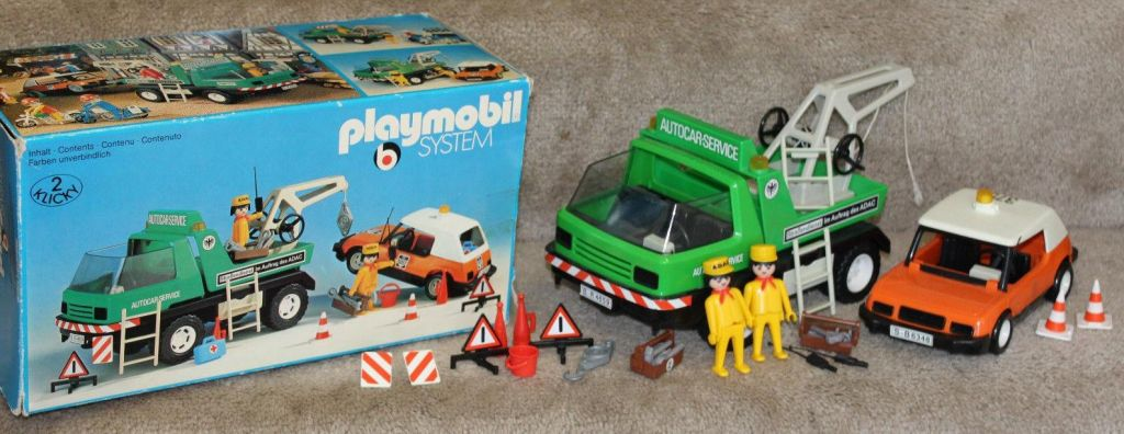 Playmobil 3473v1 - Tow Truck - Back