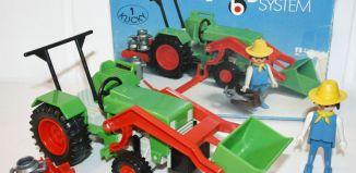 Playmobil - 3500v1 - Green Tractor & Farmer