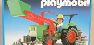 Playmobil - 3500v4 - Green Tractor & Farmer