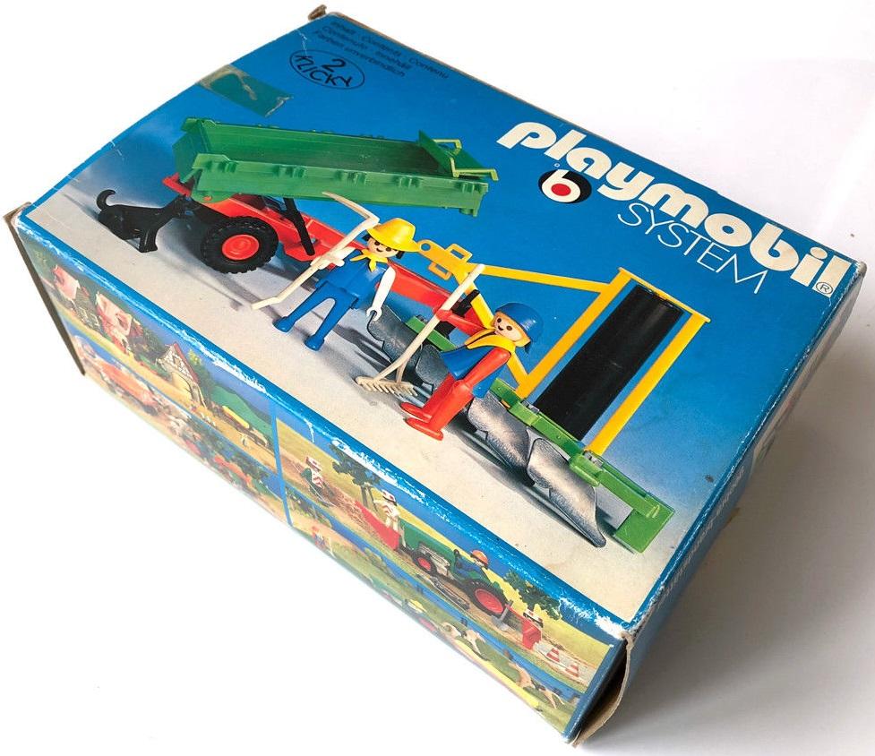 Playmobil 3501v1 - bis / Tractor trailer - Box