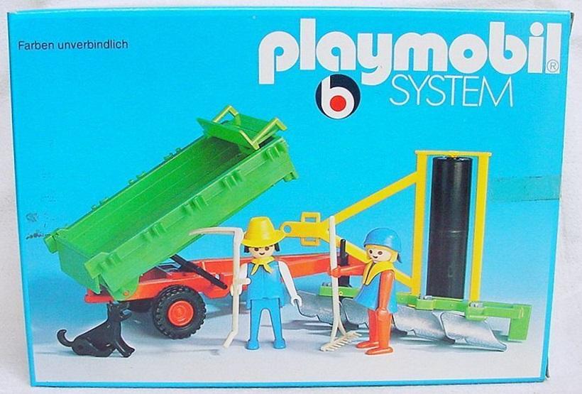 Playmobil 3501v3 - Tractor trailer - Box