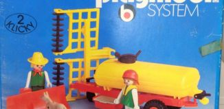 Playmobil - 3502v1 - Tank trailer and Thresher