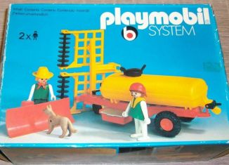Playmobil - 3502v2 - Tank trailer and Thresher