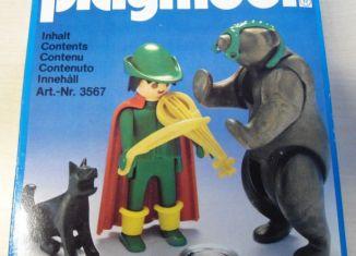 Playmobil - 3567v2 - Tamer with Bear