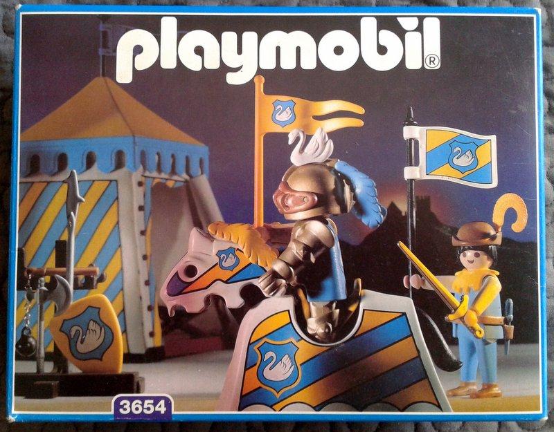 Playmobil 3654 - Knights Tournament Tent - Box
