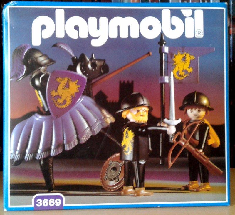 Playmobil 3669 - Dragon Knights - Box ...