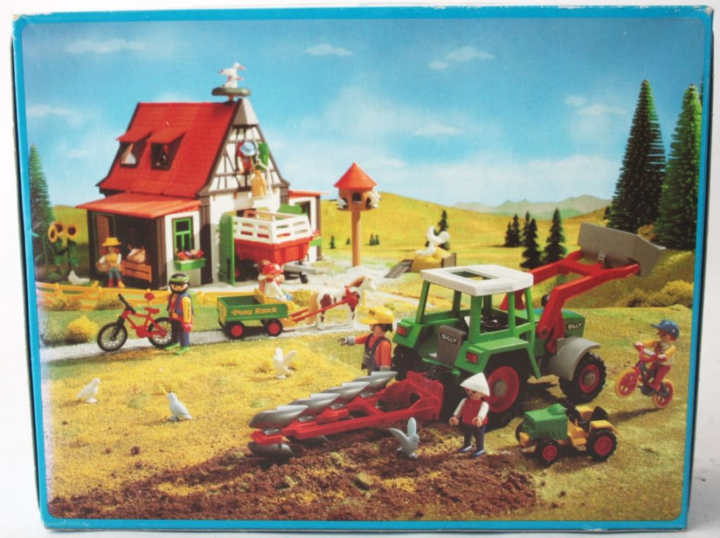Playmobil 3718 - Tractor - Back